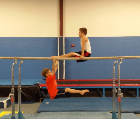 nesa gymnastics meet