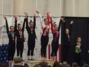 grace 1st Beam podium states